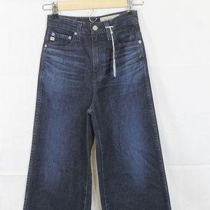 AG Yvette High Rise Wide Leg JeanS 24 NEW